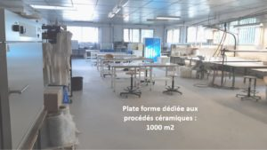 plate forme 1000 m2